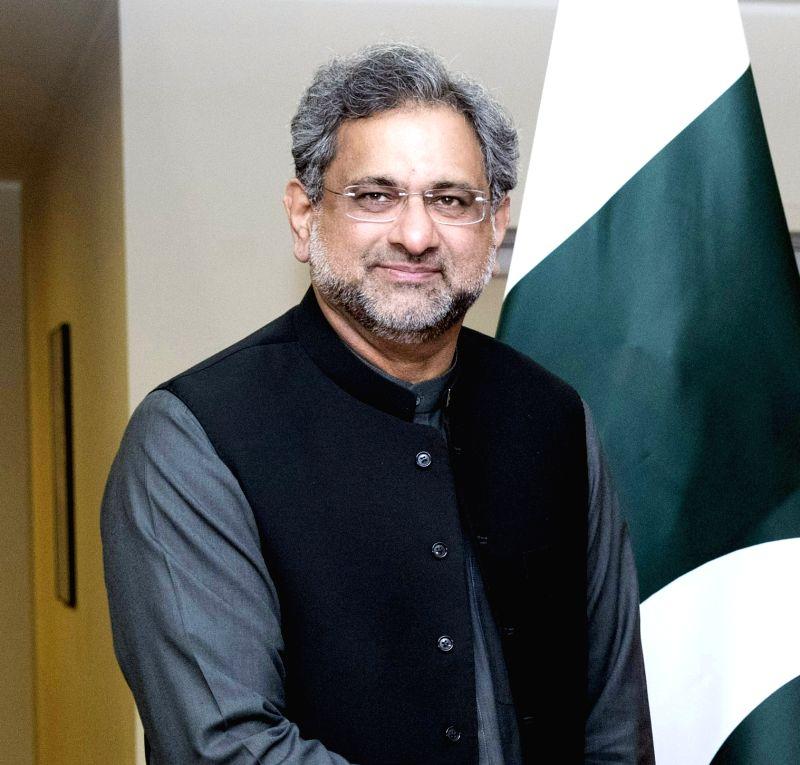 Shahid Khaqan Abbasi. (File Photo: IANS)