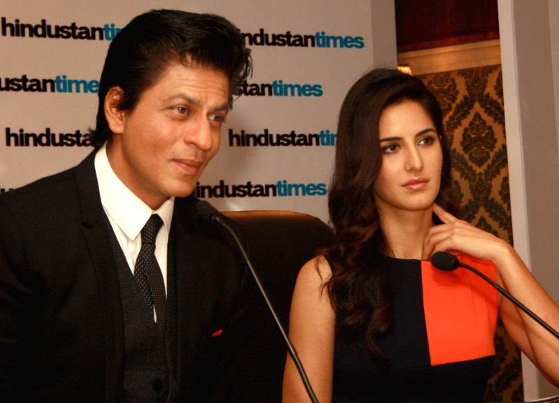 The Hindustan Times Leadership Summit - Katrina Kaif and Shahrukh Khan