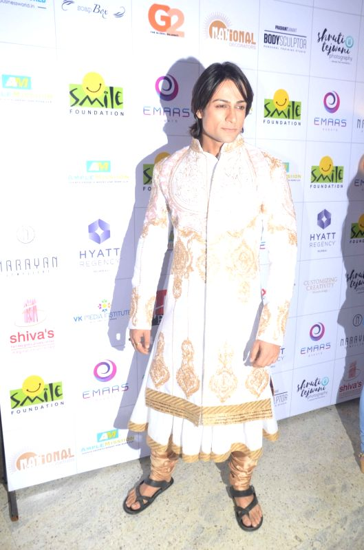 Shalin Bhanot during the 11th edition of Ramp for Champs organised by NGO Smile Foundation, on Oct 13, 2016.