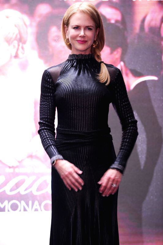 "Actress Nicole Kidman is present at a press conference held for her film ""Grace of Monaco"" during the 17th Shanghai International Film Festival (SIFF) in - Nicole Kidman"