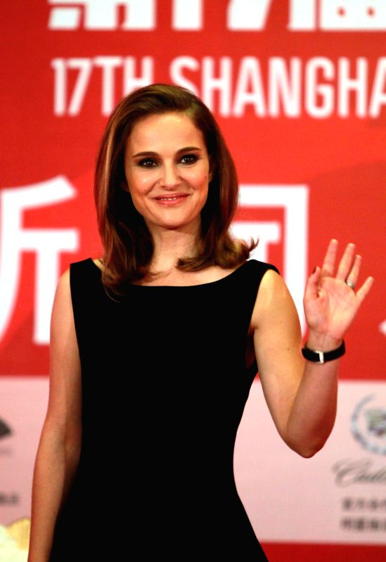American actress Natalie Portman attends the 17th Shanghai International Film Festival in east China's Shanghai, June 22, 2014. During the film festival, Natalie ..