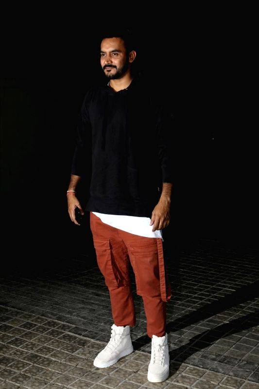 Shashank Khaitan during the special screening of film Badrinath Ki Dulhaniya in Mumbai on March 6, 2017.