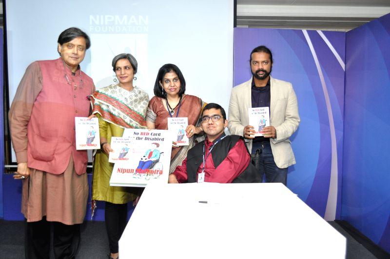 Shashi Tharoor launching the graphic novel on disability written - Shashi Tharoor