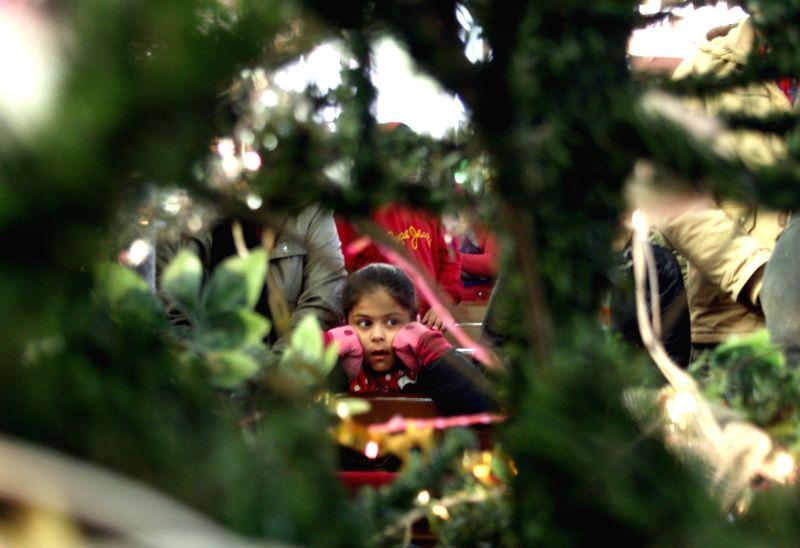 Christmas celebrations at Christ Church in Shimla, on Dec 25, 2014.