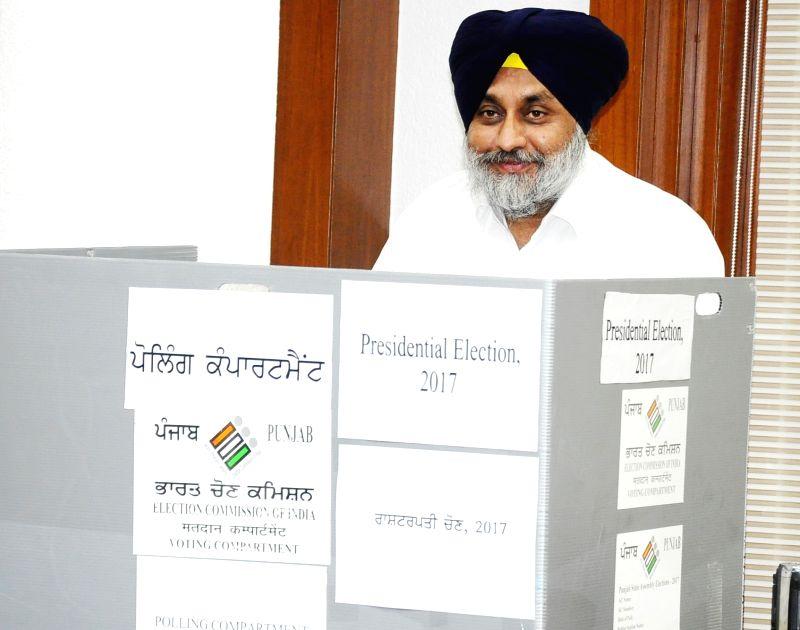 Presidential Polls - Sukhbir Singh Badal - Sukhbir Singh Badal