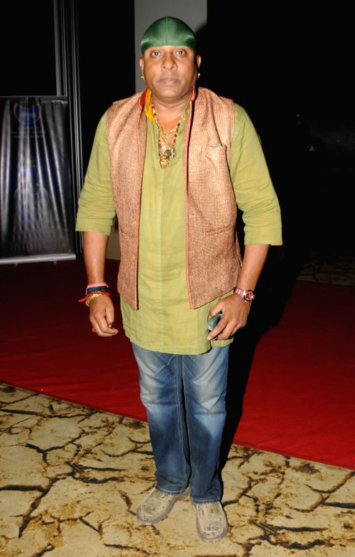 "Shivamani during the launch of sufi album ""Sound Of Sufi"" at Hotel Sahara Star in Mumbai on June 18th, 2014"