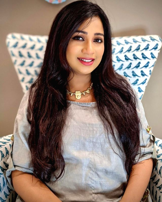 Shreya Ghoshal: In the most beautiful phase of my life.(photo:instagram)
