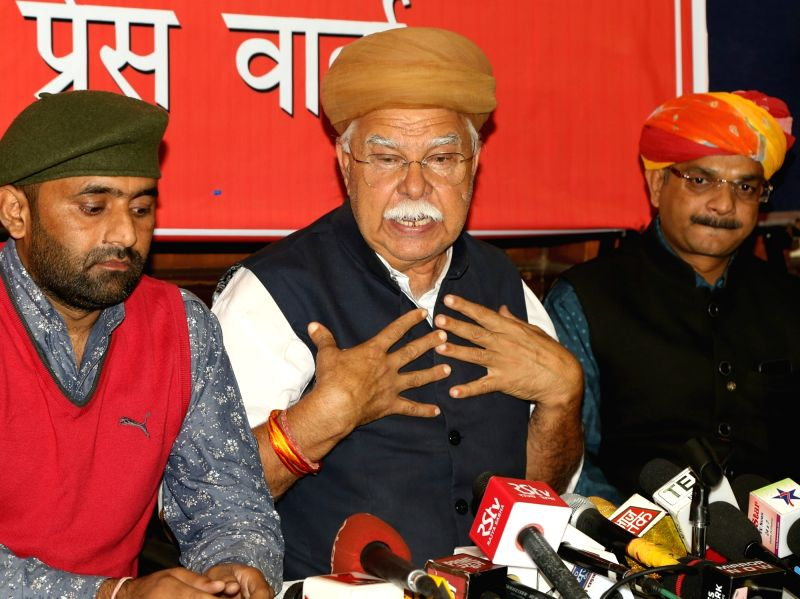 Shri Rajput Karni Sena press conference