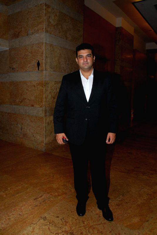 Siddharth Roy Kapur, MD, Disney during the Jewellers For Hope event of GJEPC at Hotel Grand Hyatt in Mumbai on July 18, 2014. - Siddharth Roy Kapur