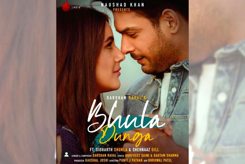 Sidnaaz fans work at garnering 100mn hits for 'Bhula dunga' video.
