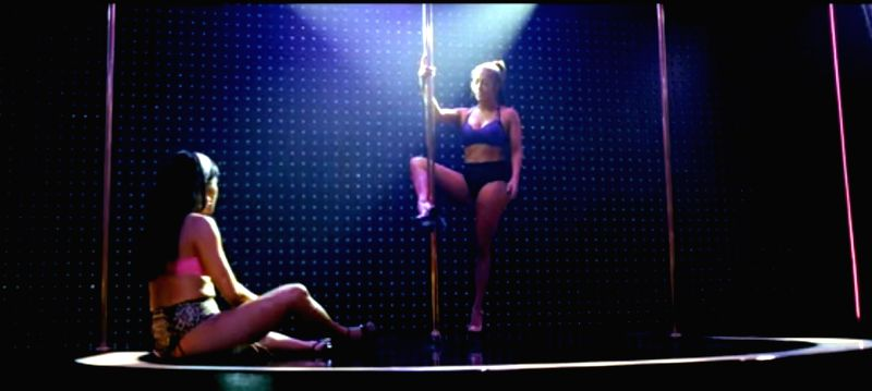 "Singer-actress Jennifer Lopez flaunted her pole dancing skills in the latest teaser of her upcoming film ""Hustlers""."