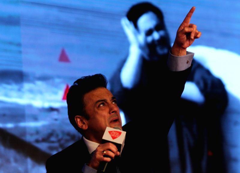 Singer Adnan Sami at Agenda 15 organised by Aaj Tak in New Delhi, on Dec 12, 2015.