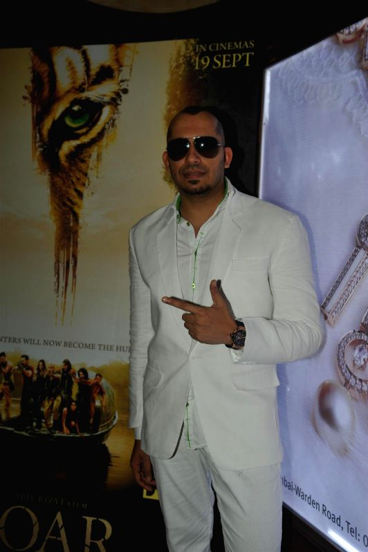 Singer Ali Quli Mirza during the first look of film Roar in Mumbai, on July 31, 2014. - Ali Quli Mirza
