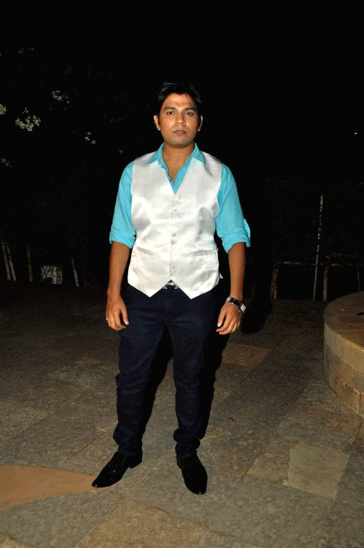 Singer Ankit Tiwari during the press conference for the success of film Ek Villian at Hotel Sun N Sand in Mumbai, on July 1, 2014.