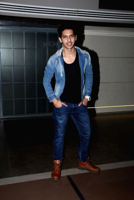 Singer Armaan Malik during the screening of Hollywood film Southpaw in Mumbai on July 27, 2015. - Malik