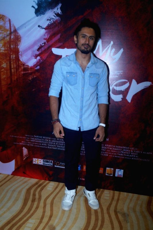 Singer Asa Singh during the music launch of film My Father Iqbal in Mumbai, on August 6, 2016. - Asa Singh