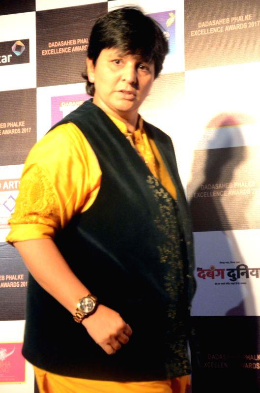 Singer Falguni Pathak at the Dadasaheb Phalke award function in Mumbai on April 21, 2017. - Falguni Pathak