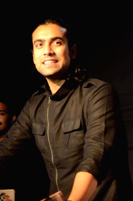 Singer Jubin Nautiyal at the Dadasaheb Phalke award function in Mumbai on April 21, 2017. Jubin got the Best Playback singer award for Kaabil.