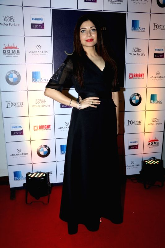 Singer Kanika Kapoor during the announcement of Cineyug's first edition of luxury and lifestyle exhibition Joya curated by Yasmin Morani and Priyanka Soorma, in Mumbai, on Aug. 8, 2016. - Kanika Kapoor