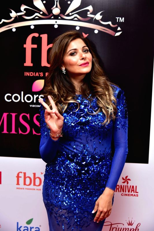 Singer Kanika Kapoor during the Femina Miss India North 2017 in New Delhi on April 16, 2017. - Kanika Kapoor