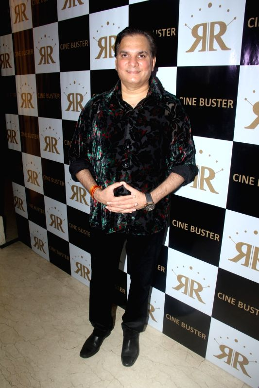 Singer Lalit during the launch of Cine Buster Magazine in Mumbai on June 10, 2017.