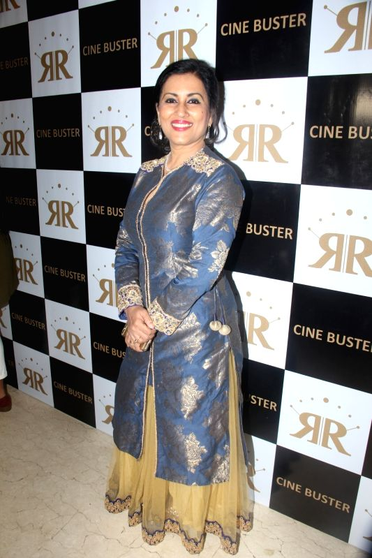 Singer Madhushree during the launch of Cine Buster Magazine in Mumbai on June 10, 2017.