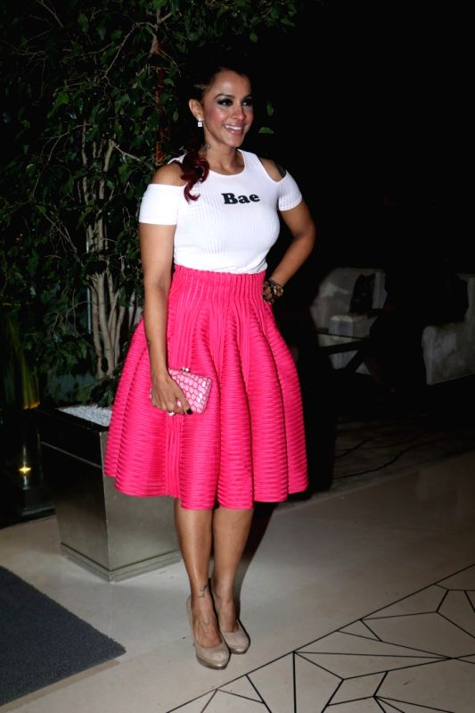Singer Manasi Scott during the party orgnised by Tanishaa Mukerji on behalf of her Charitable Initiative NGO STAMP in Mumbai on July 23, 2016
