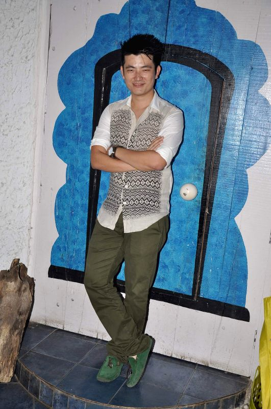 Singer Meiyang Chang during the launch of music album In Rahon Mein in Mumbai on September 23, 2013.