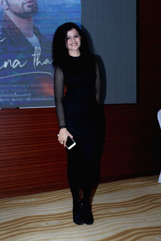 "Singer Palak Muchhal during the music launch of film ""Ek Haseena Thi Ek Deewana Tha"" in Mumbai, on June 12, 2017."