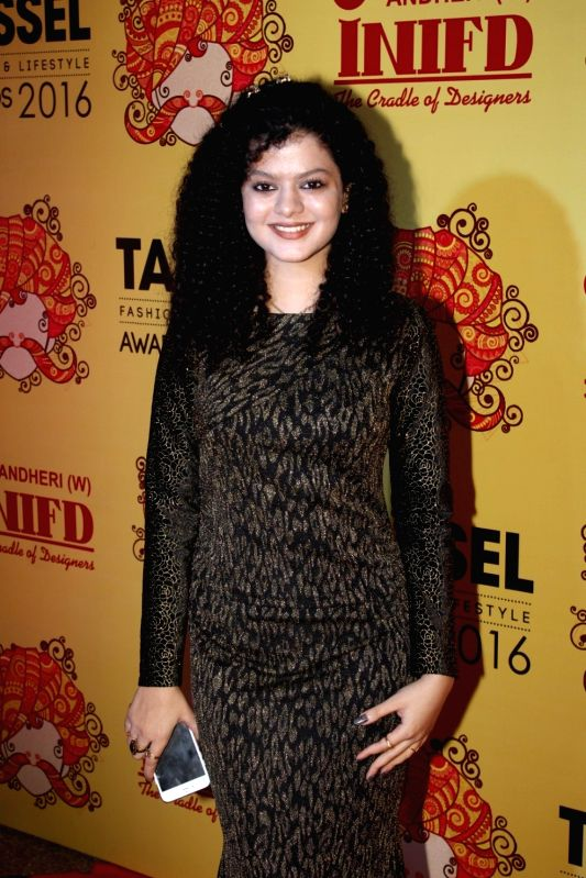 Singer Palak Muchhal during the Tassel Fashion & Lifestyle Awards 2016, in Mumbai, on May 8, 2016.