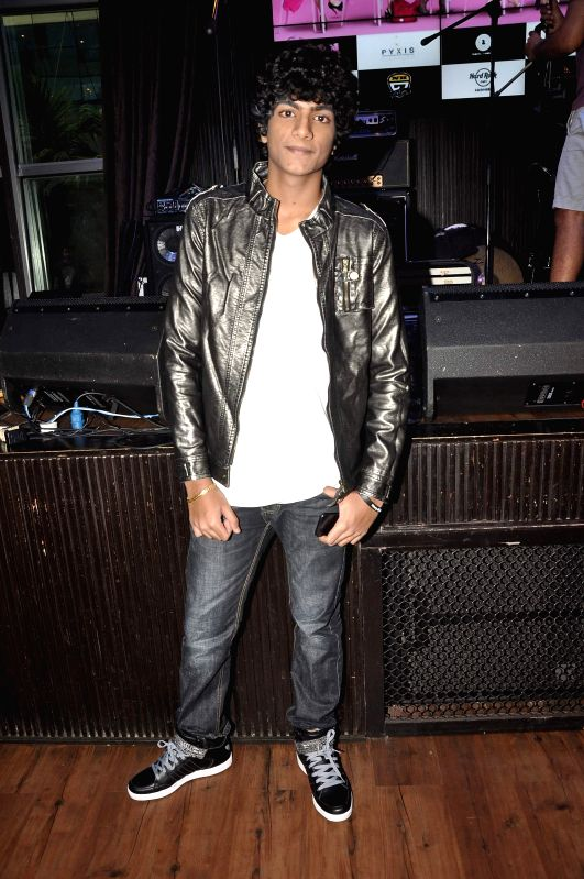 Singer Palash Muchhal during the music launch of film Amit Sahni Ki List in Mumbai on June 18, 2014.