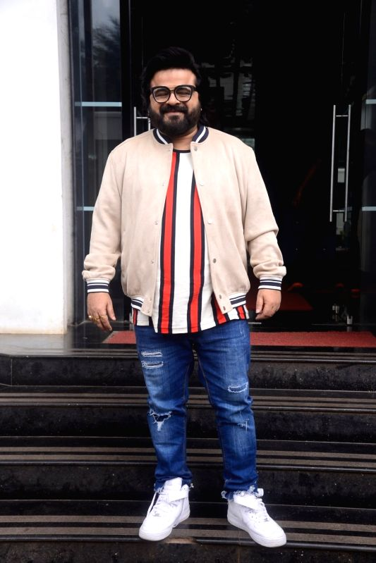 "Singer Pritam Chakrabort on the sets of reality television show ""Dil Hai Hindustani 2"" in Mumbai on July 30, 2018."