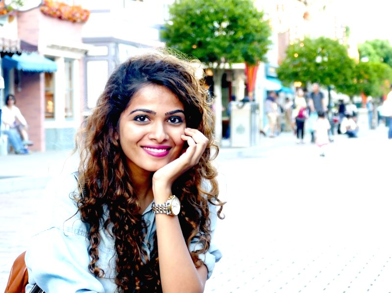 Singer Sanah Moidutty