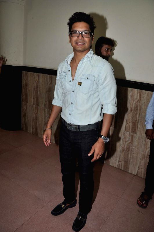 Singer Shaan during the celebration of 75th birth anniversary of late music director R D Burman in Mumbai, on June 27, 2014.