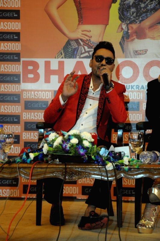 "Singer Sonu Thukral during the launch of his song ""Bhasoodi"" in New Delhi on July 17, 2018."