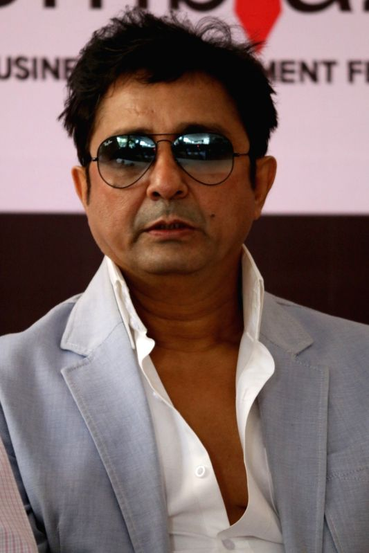 Singer Sukhwinder Singh during a social event India Unites for Animals, in association with Mithibai College's BMS initiative, Emblaze`17 in Mumbai, in Mumbai, on Sept 29, 2016.