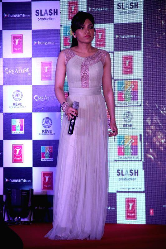 Singer Tulsi Kumar during the music launch of film Creature 3D in Mumbai, on August 12, 2014. - Tulsi Kumar