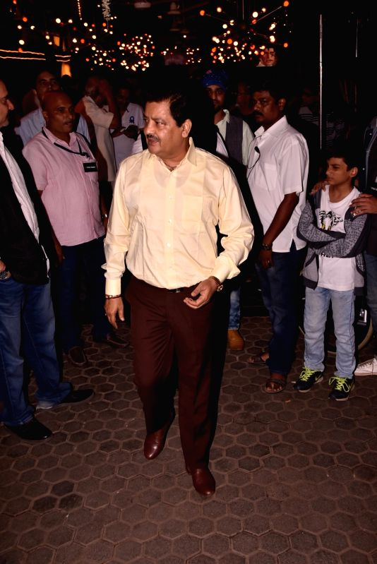 Singer Udit Narayan arrives to attend Late actor Shashi Kapoor's condolence meeting in Mumbai on Dec 7, 2017. - Shashi Kapoor