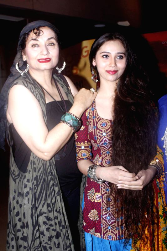 Singers Salma Agha and Sasha Agha during a programme organised to launch the trailer of upcoming film `Desi Kattey` in Mumbai.