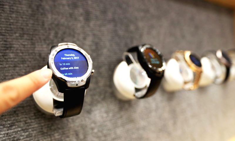 Smart watches.  (Xinhua/Li Ying/IANS)