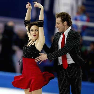 Methalie Pechalat (L) and Fabian Bourzat of France perform during the short dance ice dance of the figure skating team event at the Sochi 2014 Winter Olympic Games in .