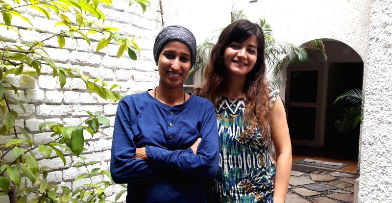 Soghra Khurasani and Hoora Soleimani (L to R)
