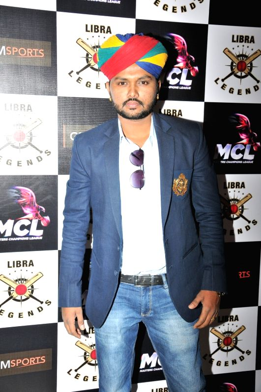Soketu Parikh at the launch of Libra Legends Masters Champions League (MCL) team in Mumbai on Nov  30, 2015
