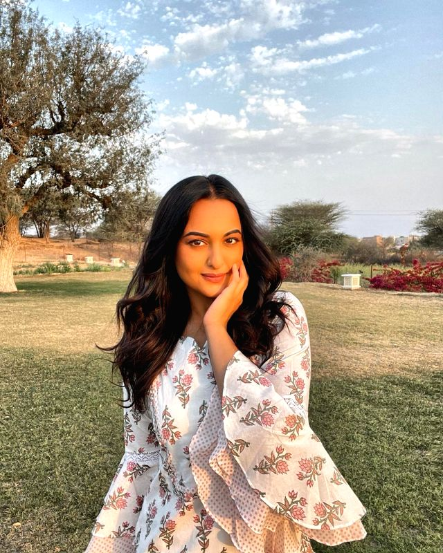 Sonakshi Sinha: We're all sheltered by mother nature.(photo:Instagram)