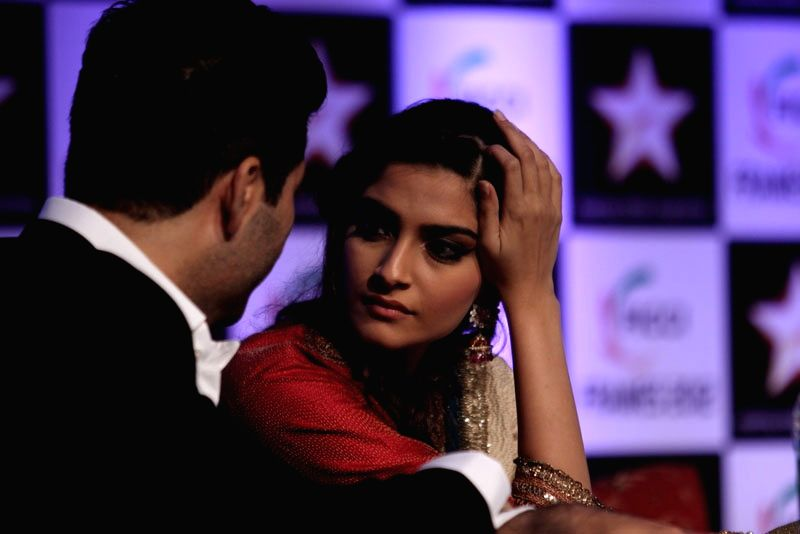 FICCI Frames 2012 Inauguration Day - Sonam Kapoor and Karan Johar