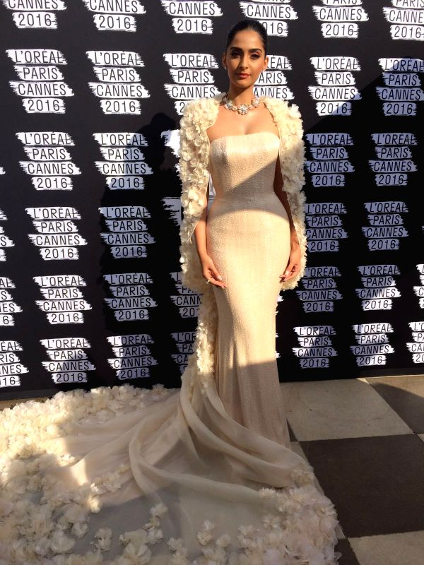 Sonam Kapoor on Day 6 at Cannes Film Festival - Sonam Kapoor