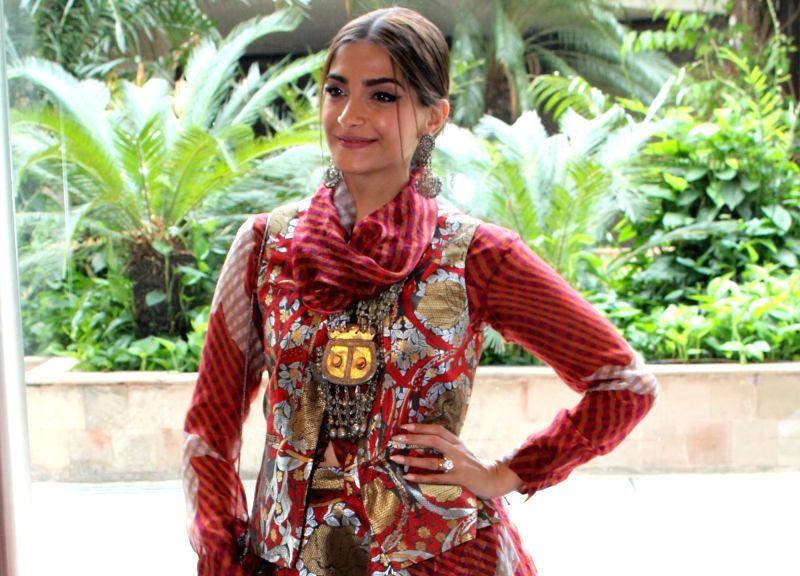 Sonam Kapoor. (Photo: Amlan Paliwal/IANS)
