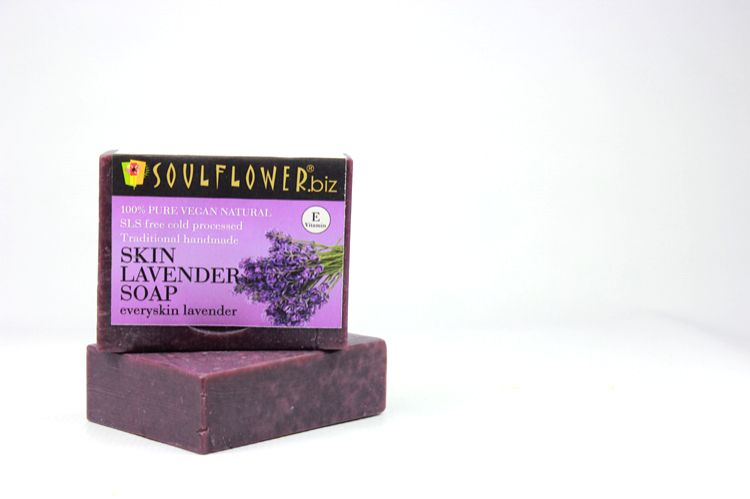 Soulflower  Skin Lavender Soap
