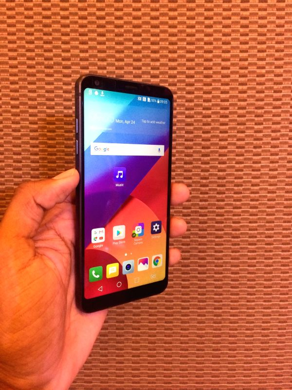South Korean giant LG on Monday launched G6 with 18:9 format for an immersive experience while streaming videos and playing games. It is priced at Rs 51,990.