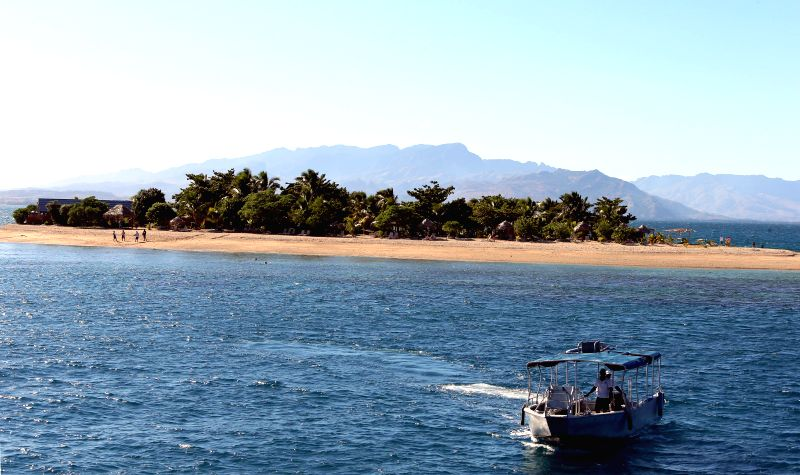Photo taken on June 21, 2014 shows the view of the South Sea island of Fiji. Fuji is an island country in the South Pacific Ocean with more than 332 ...